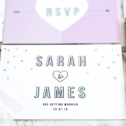 Confetti order save the date