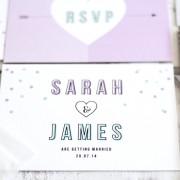 Confetti order save the date
