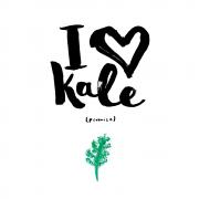 I love Kale print 2