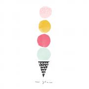 Ice cream print 2