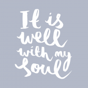 It is well with my soul print 2